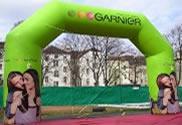 Garnier publiboog met geknikte hoeken