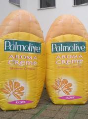 Palmolive opblaasbare reclame
