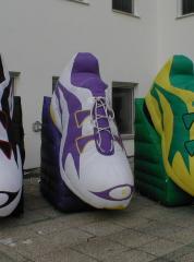 opblaasbare sport schoenen